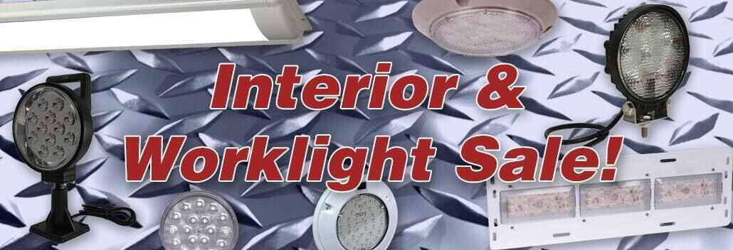 Interior and Work Light Sale