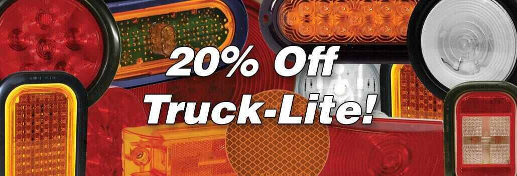 20% off Truck-Lite Lights