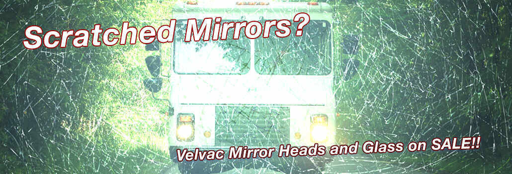 Velvac Heads and Glass Sale