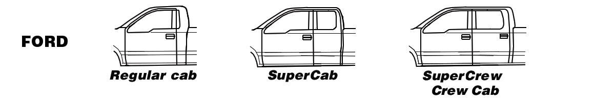 Ford Cab Types