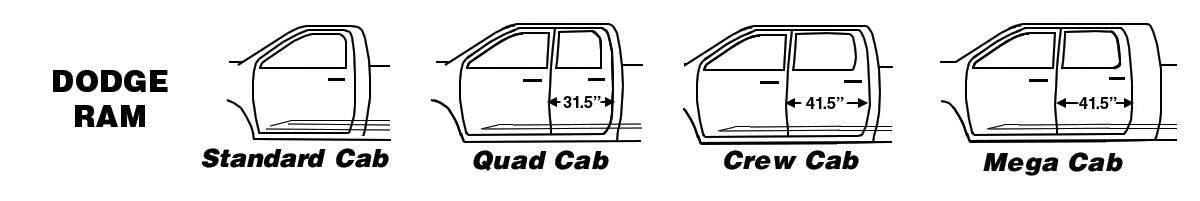 Dodge Ram Cab Types