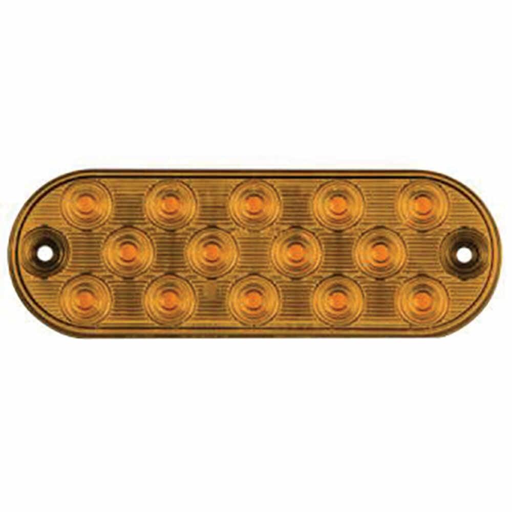 LED Amber Strobe Light, 14 LED