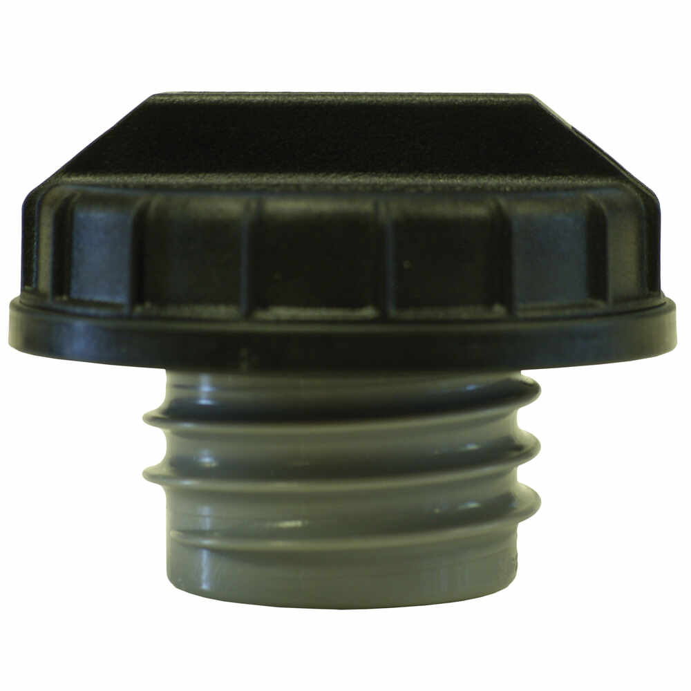 "1-1/2"" x 6"" Unleaded Fuel Filler Neck with Black Cap"