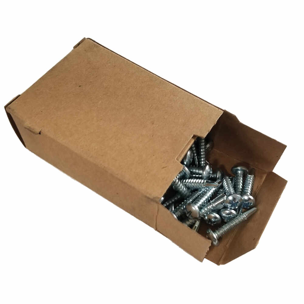"""#10 x 1"""" Zinc Self Tapping Phillips Head Screw - 100 Pieces"""