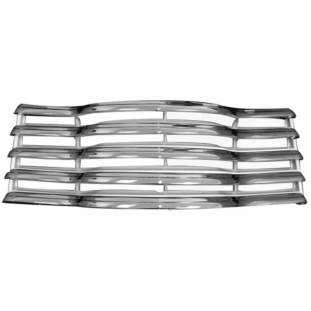 1947-1953 Chevrolet Pickup Truck CK 1st Series Chrome Grille with Rear Bracket
