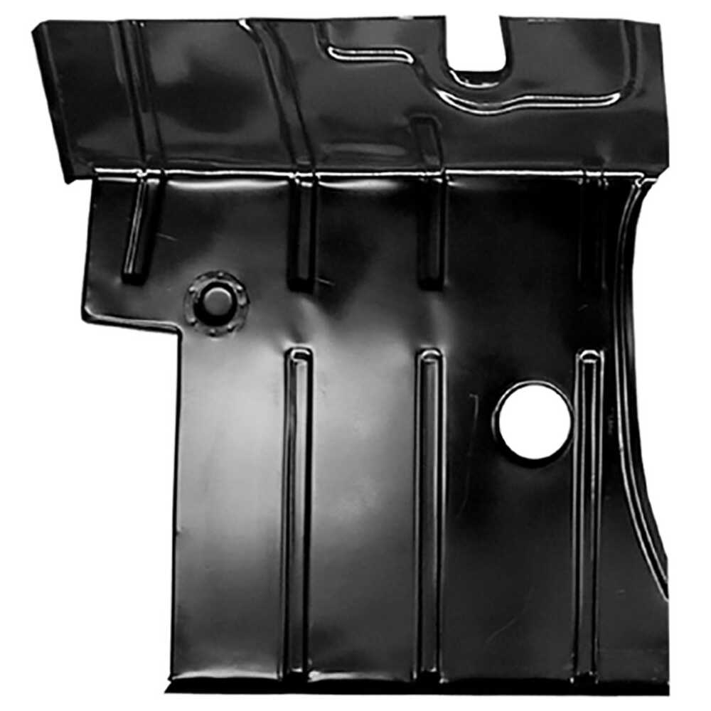 1955-1959 Chevrolet Pickup Truck CK 2nd Series Front Floor Pan with Lower Firewall - Left Side