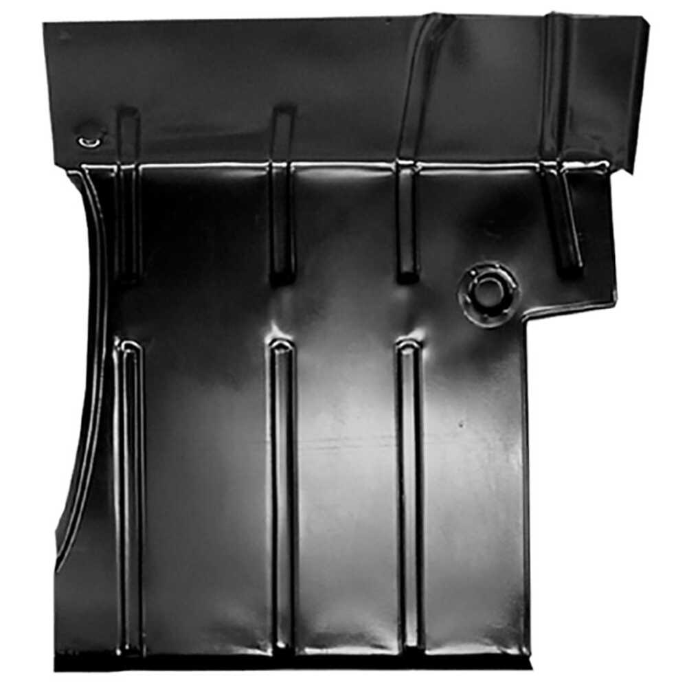 1955-1959 Chevrolet Pickup Truck CK 2nd Series Front Floor Pan with Lower Firewall - Right Side