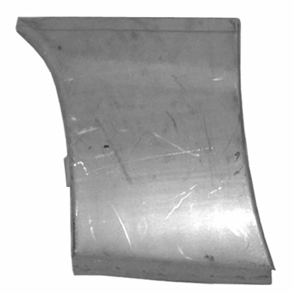 1967-1976 Plymouth Duster Front Fender Lower Rear Section - Left Side