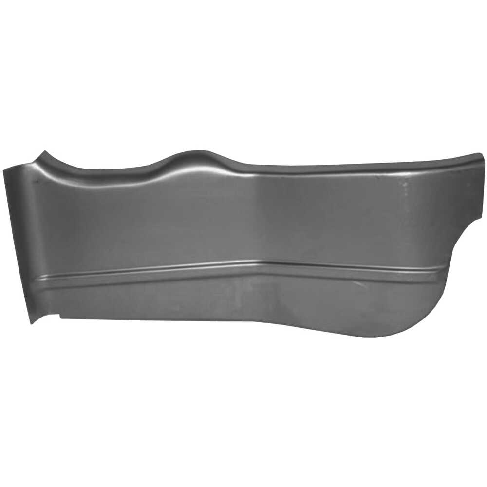 1968-1972 Buick Apollo Trunk Floor Side - Right Side