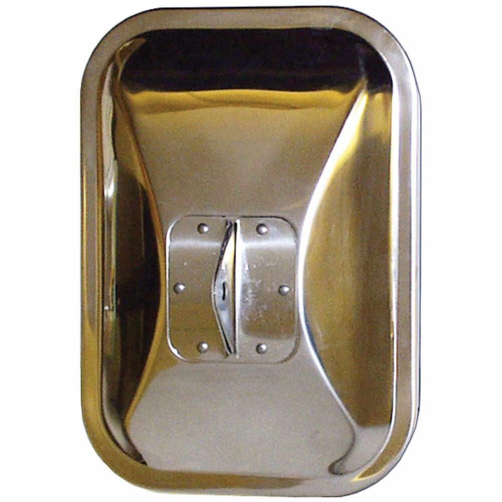 1973-1991 Ford Econoline Stainless Steel Mirror Head