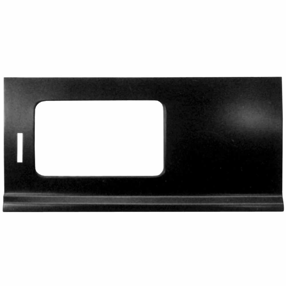 1975-1991 Ford Econoline Rear Door Skin with License Opening - Left Side