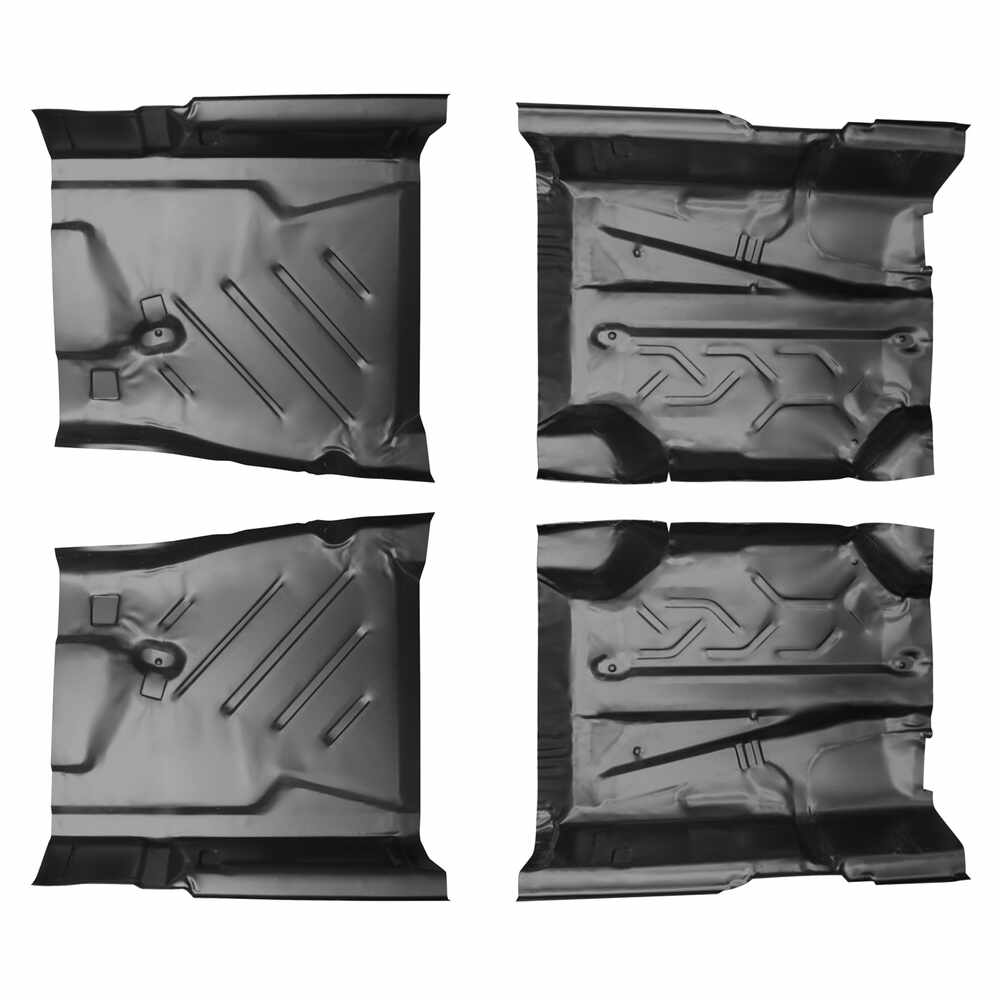 1977-1985 Mercedes W123 Chassis Front & Rear Floor Pan Kit