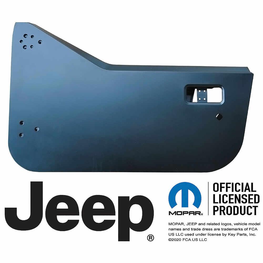 1987-1995 Jeep Wrangler YJ Half Door Shell - Left Side
