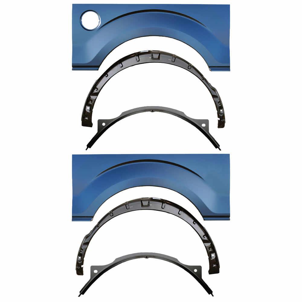 2009-2014 Ford F150 Pickup Truck Wheel Arch & Inner & Outer Wheelhouse Kit.