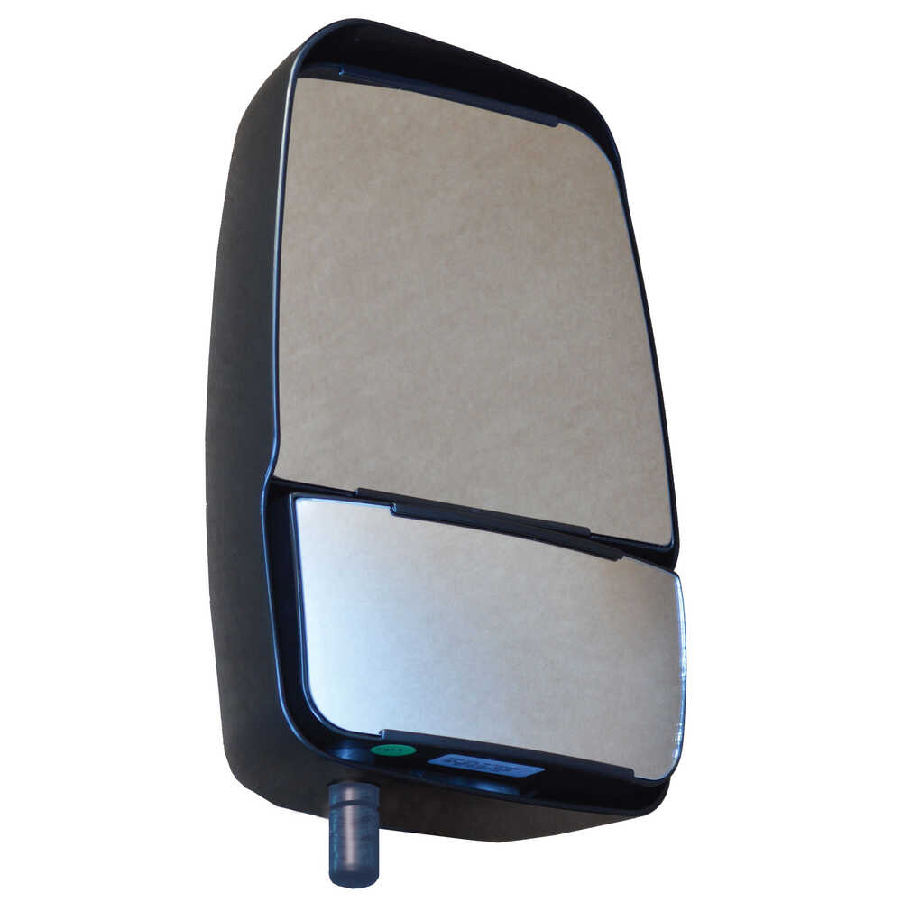 """2020 Deluxe Manual Mirror Assembly for 96"""" Body - Black - Right Side - Velvac"""