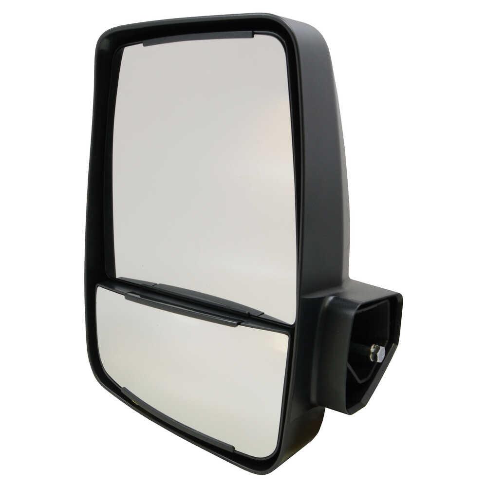 2020XG Deluxe Manual Mirror Head - Left - Black - Velvac