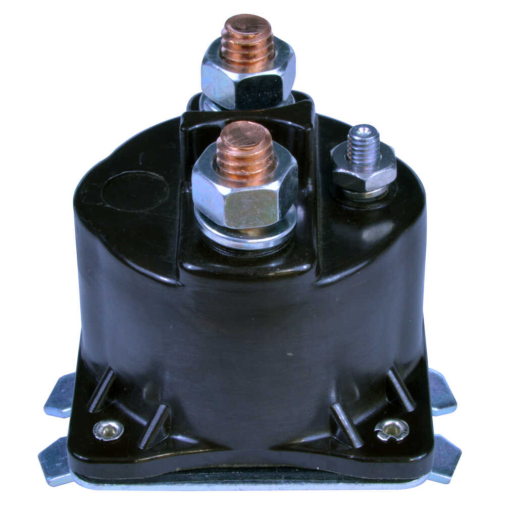 3 Post Prestolite Solenoid with Curved Base - Positive to Excite - Grounded