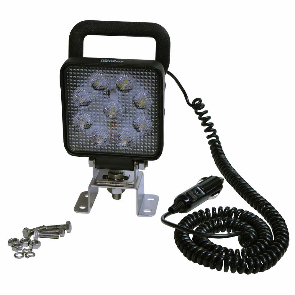 "4"" Square LED Work light - 1000 Lumen"