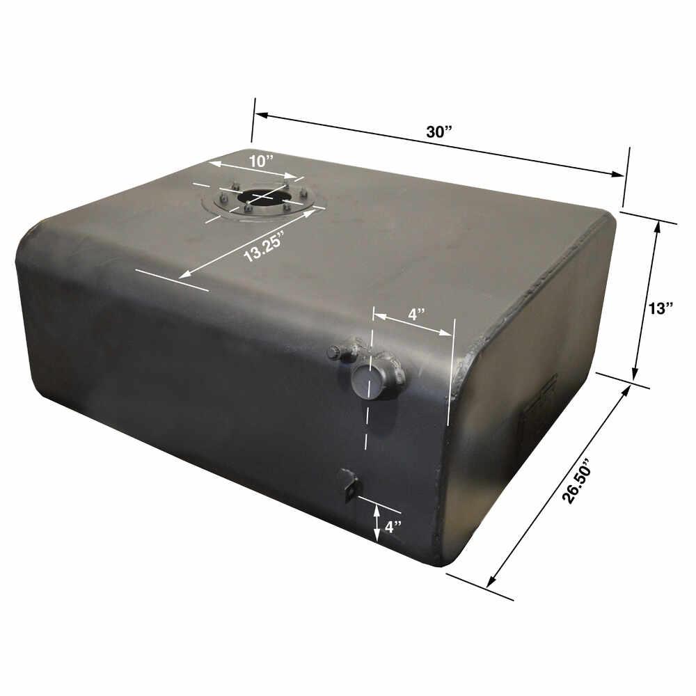 40 Gallon 'Short' Gas or Diesel Fuel Tank