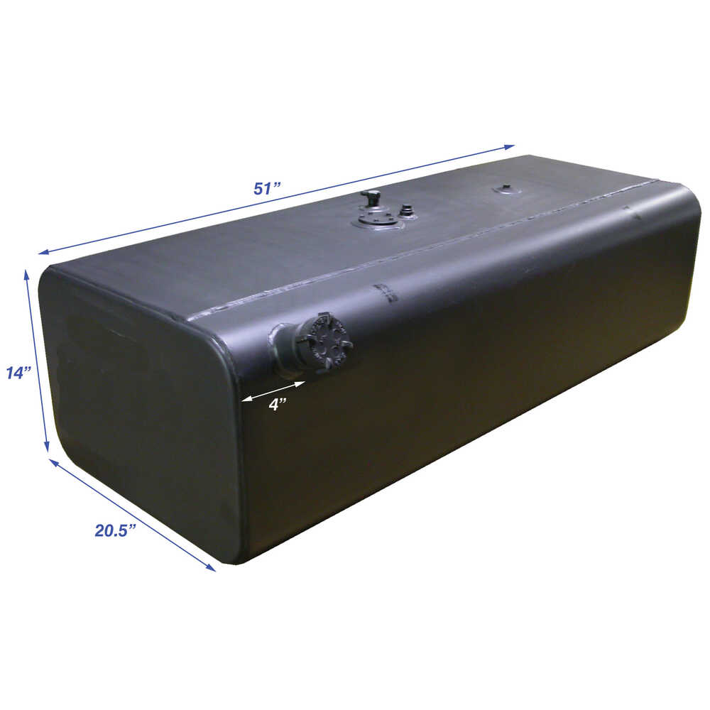 45 Gallon Curbside (Right Hand) Fuel Tank