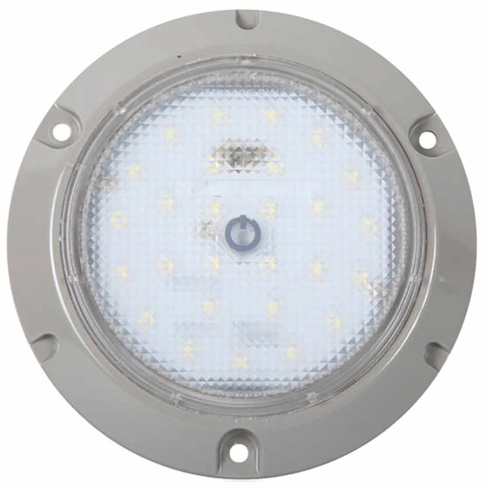 """5-1/2"""" LED Dome Light with Touch Switch, 450 Lumens 24 LEDs"""