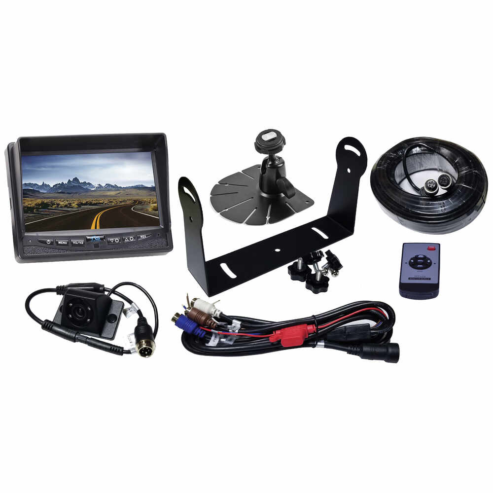 """7"""" Rear View Camera System with Night Vision that can Handle up to 3 Cameras"""