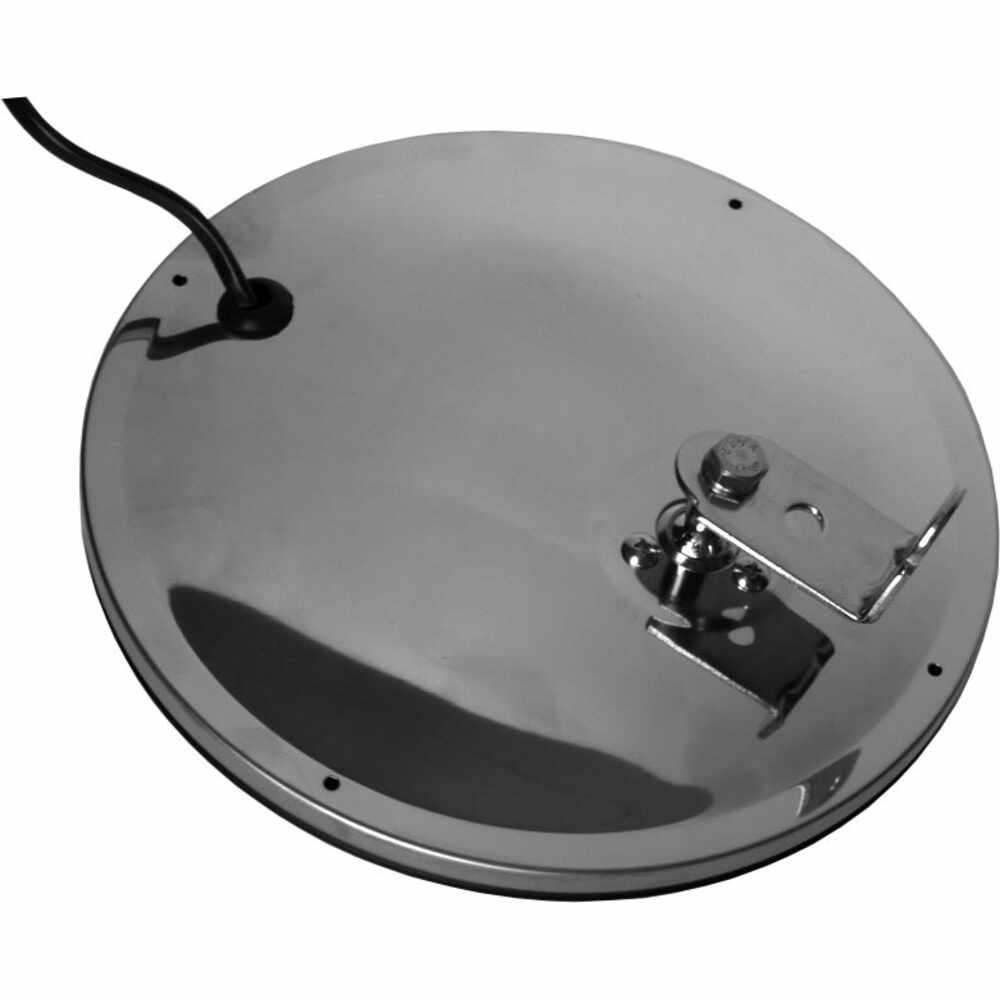 "8-1/2"" Heated Convex Spot Mirror - Stainless Steel - Velvac"