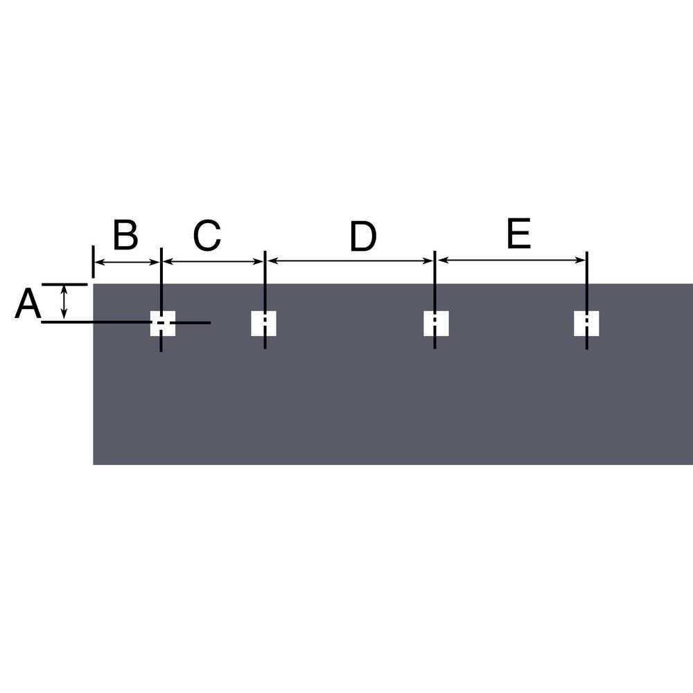 "8' Steel Cutting Edge - 96""L x 1/2""W x 6""H - Replaces SnowDogg"