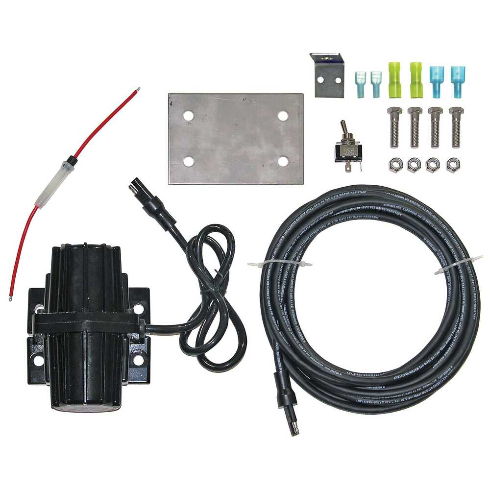 80 Pound Tailgate Spreader Vibrator Kit with Cord and Switch