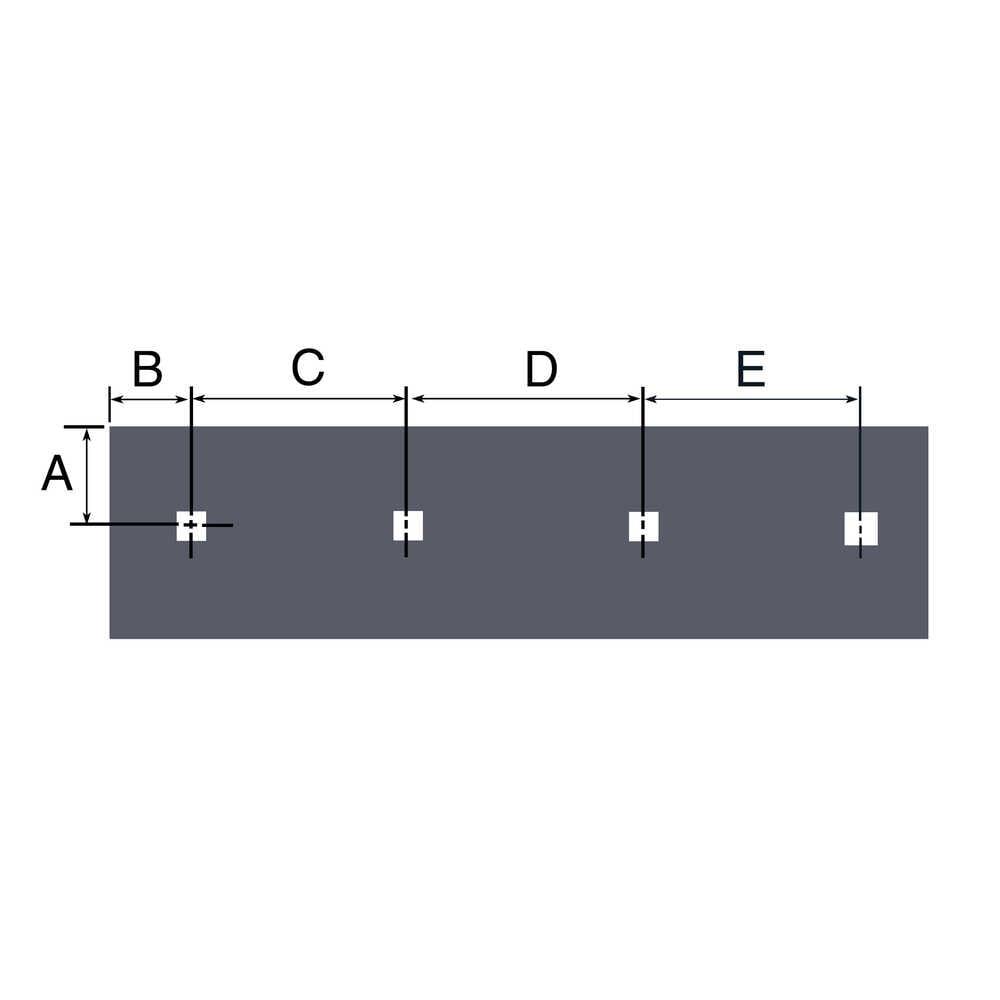 "9' Steel Cutting Edge, 108""L x 6""H x 1/2""W for Fisher X-Plow blades 27590 & 27427"
