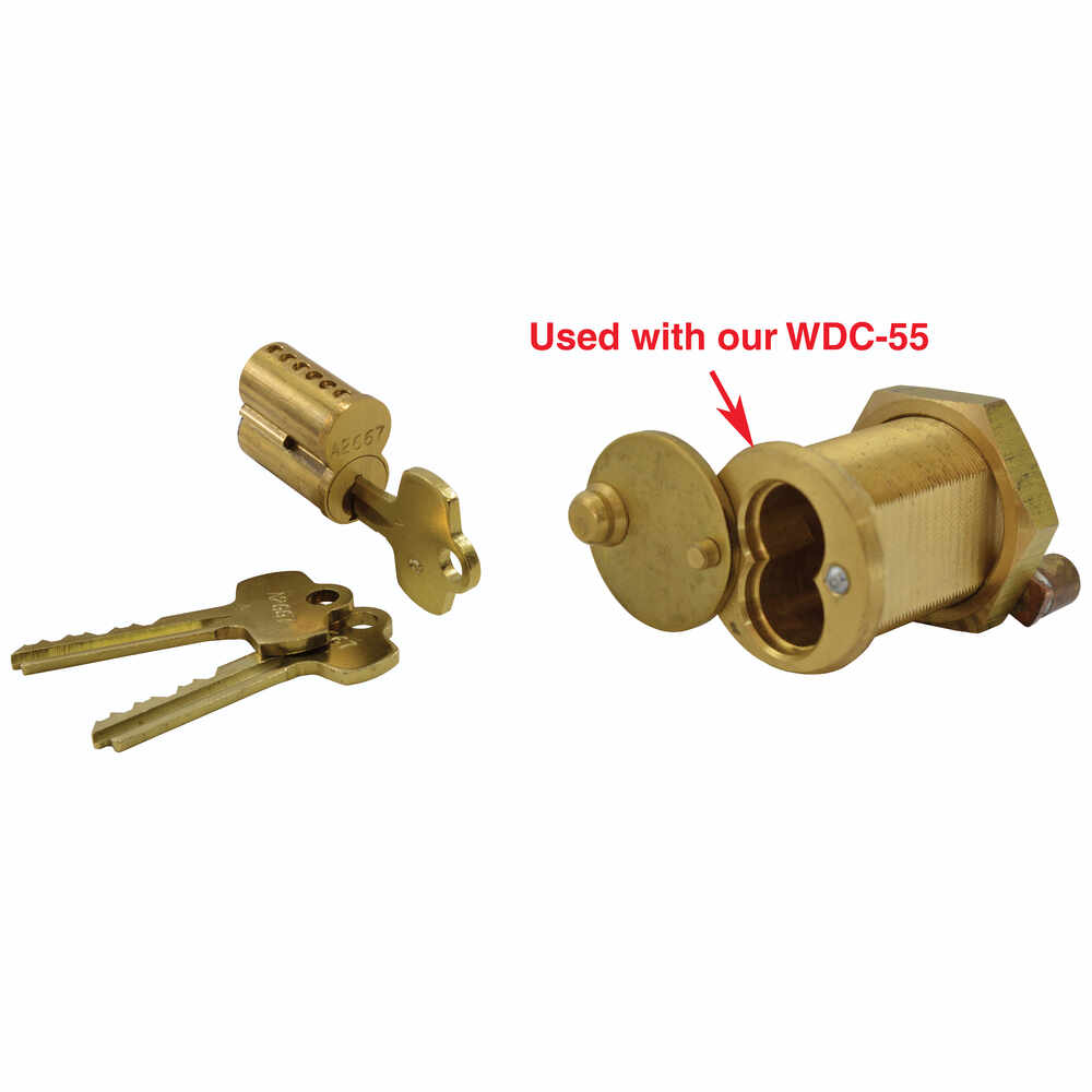 Best  Cylinder Core - fits Todco & Whiting Roll Up Door