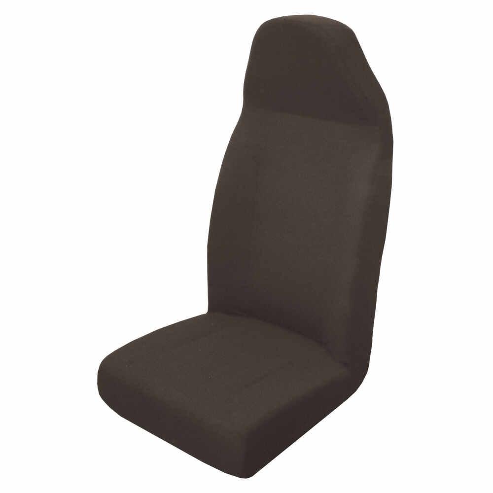 Black Cloth High Back Seat