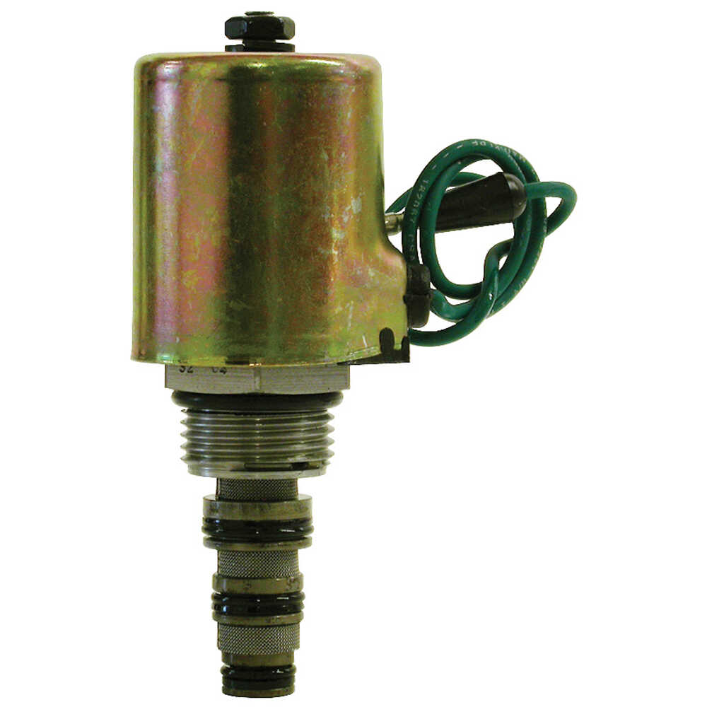 """C"""" Solenoid Green Wire Valve Assembly - Meyer 15358"""