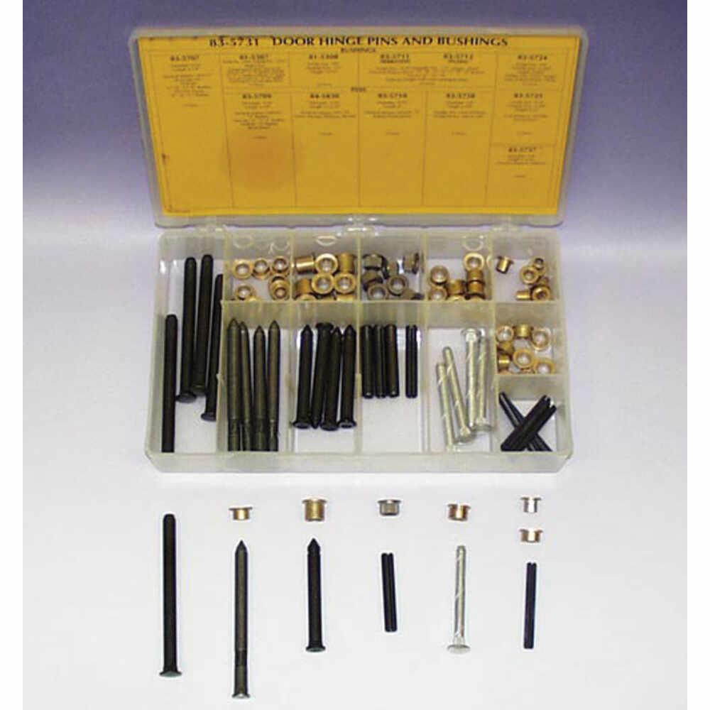 Door Hinge Pins & Bushings Kit