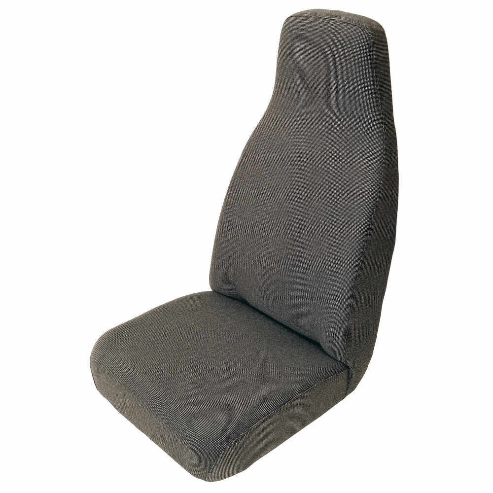 Gray Cloth High Back Seat with Slides
