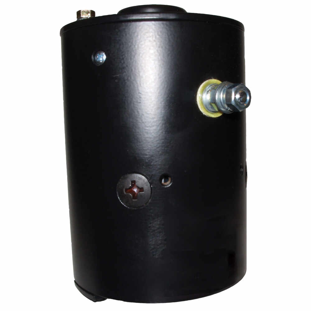 Hydraulic Power Unit Motor with Slotted Shaft - 12V CCW