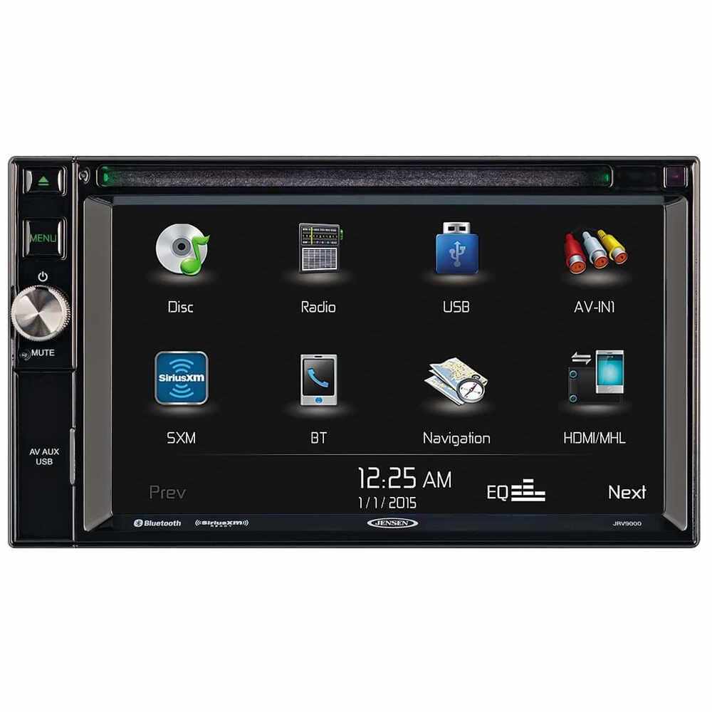 JENSEN AM/FM/CD/USB & Siruis Ready Stereo with Navigation & 3 Camera Inputs
