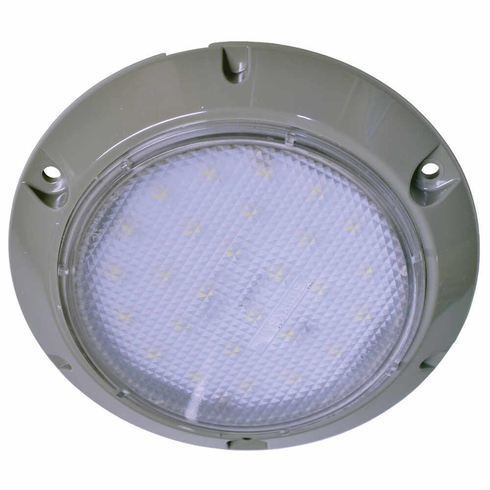 """LED 5.5"""" Round Dome Light, 450 lumens, 24 LEDs Maxxima M84406-C"""