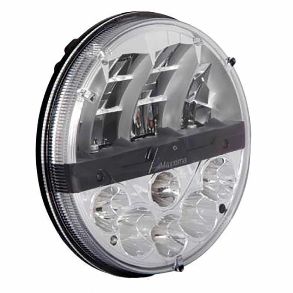"""LED 7"""" Round Hi/Lo Dual Beam Head Light Kit"""