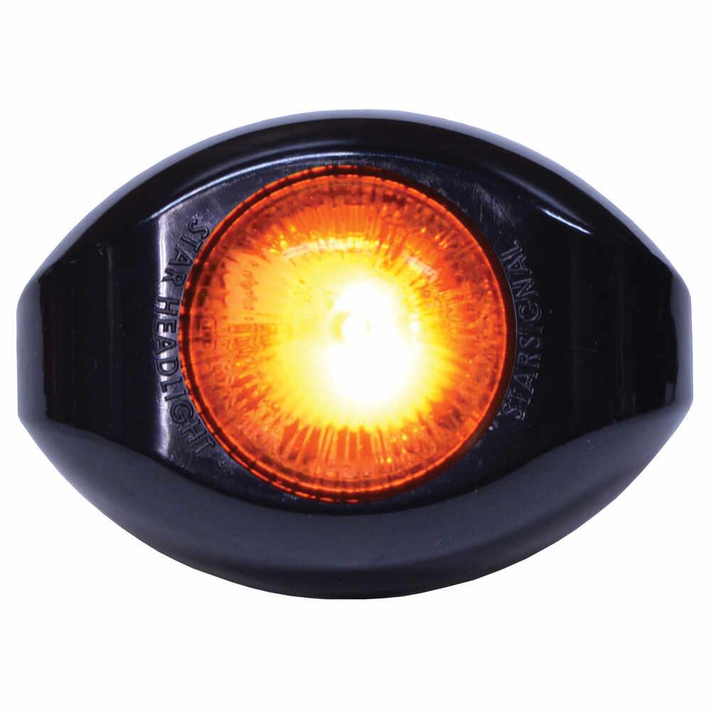 LED Mini Comet Strobe - Flashes Amber / White