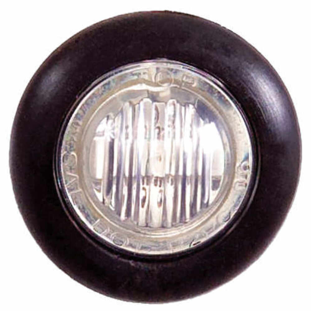 """LED Single Light with clear lensC - 3/4"""""""
