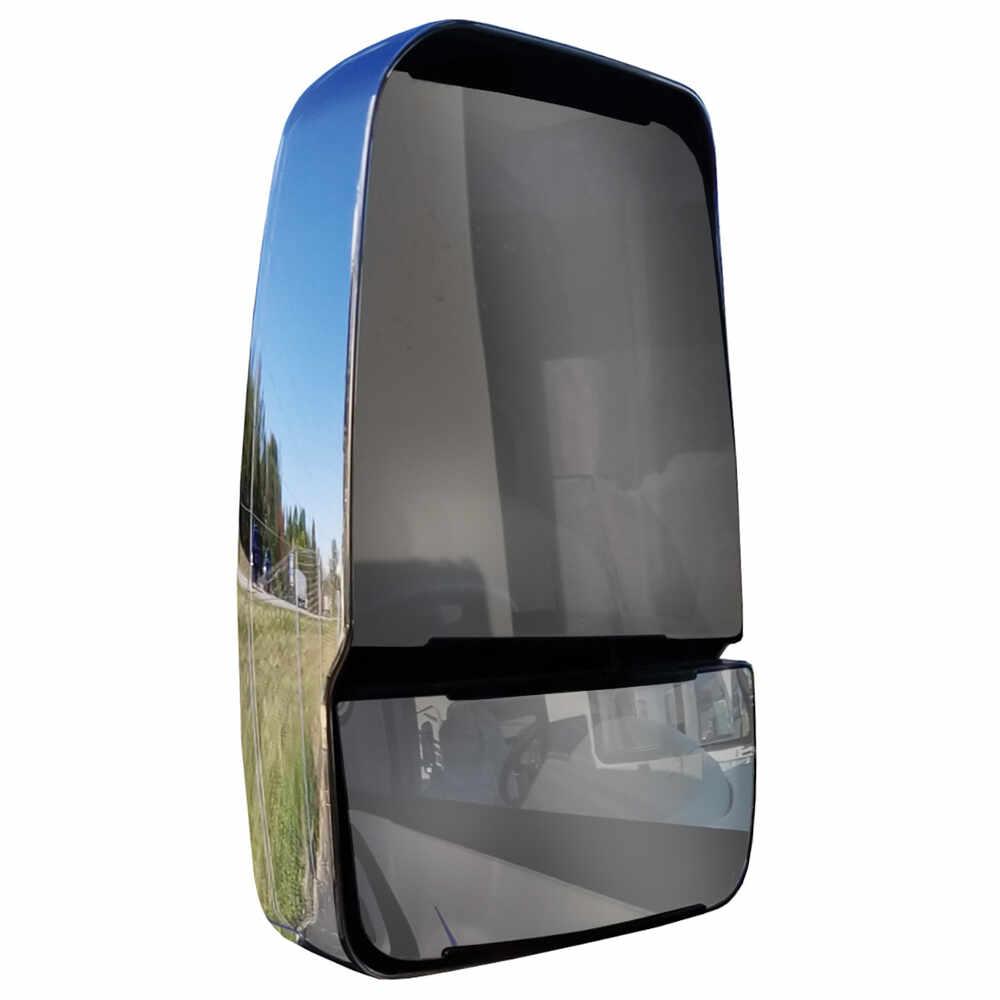 Left Deluxe Manual Mirror Head - Chrome - Velvac