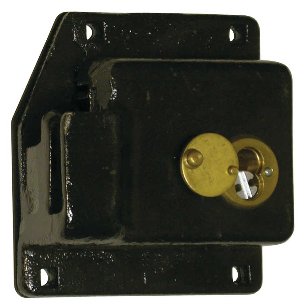 Lock Box with Best Cylinder Housing - fits Whiting Roll Up Door