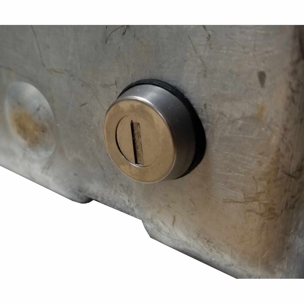 Lock Box Housing with Strattec Cylinder for Maximum Security Latch
