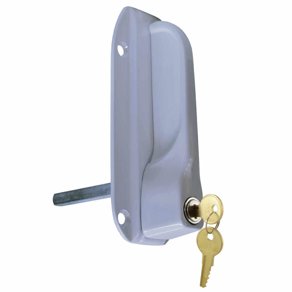 Locking Web Style Handle, White