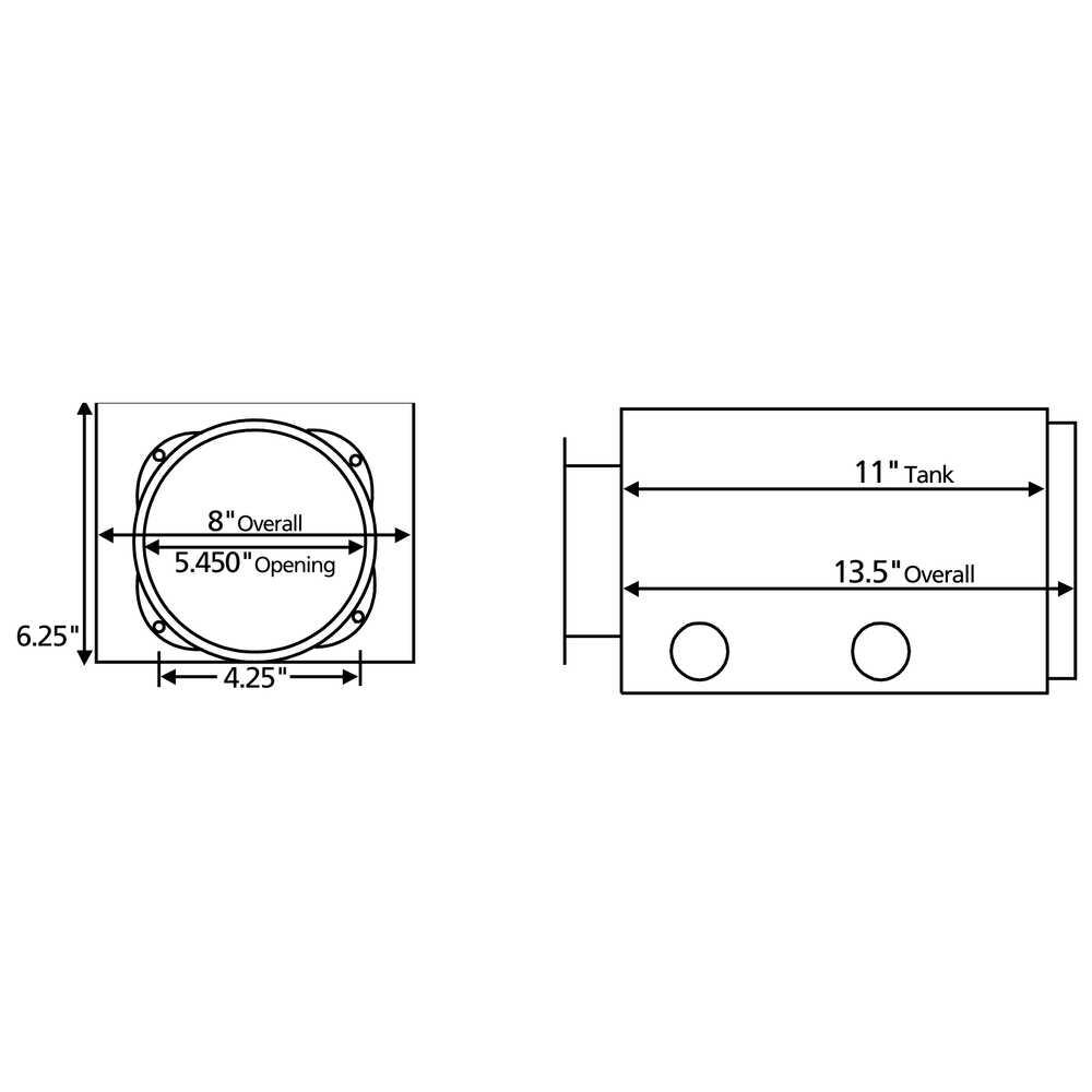 Metal Reservoir for Fenner unit - 2-1/2 Gallon Capacity