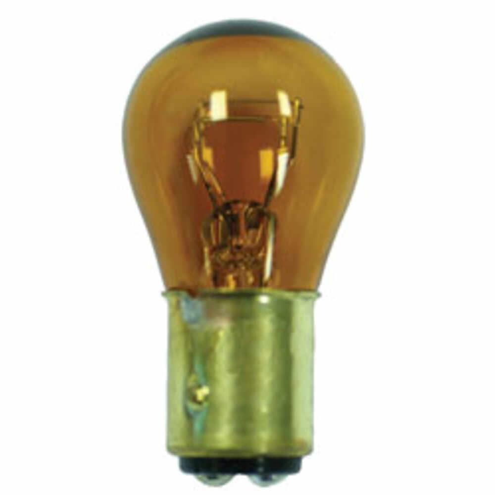 "Miniature Automotive Bulb - Natural Amber - 1"" Diameter"