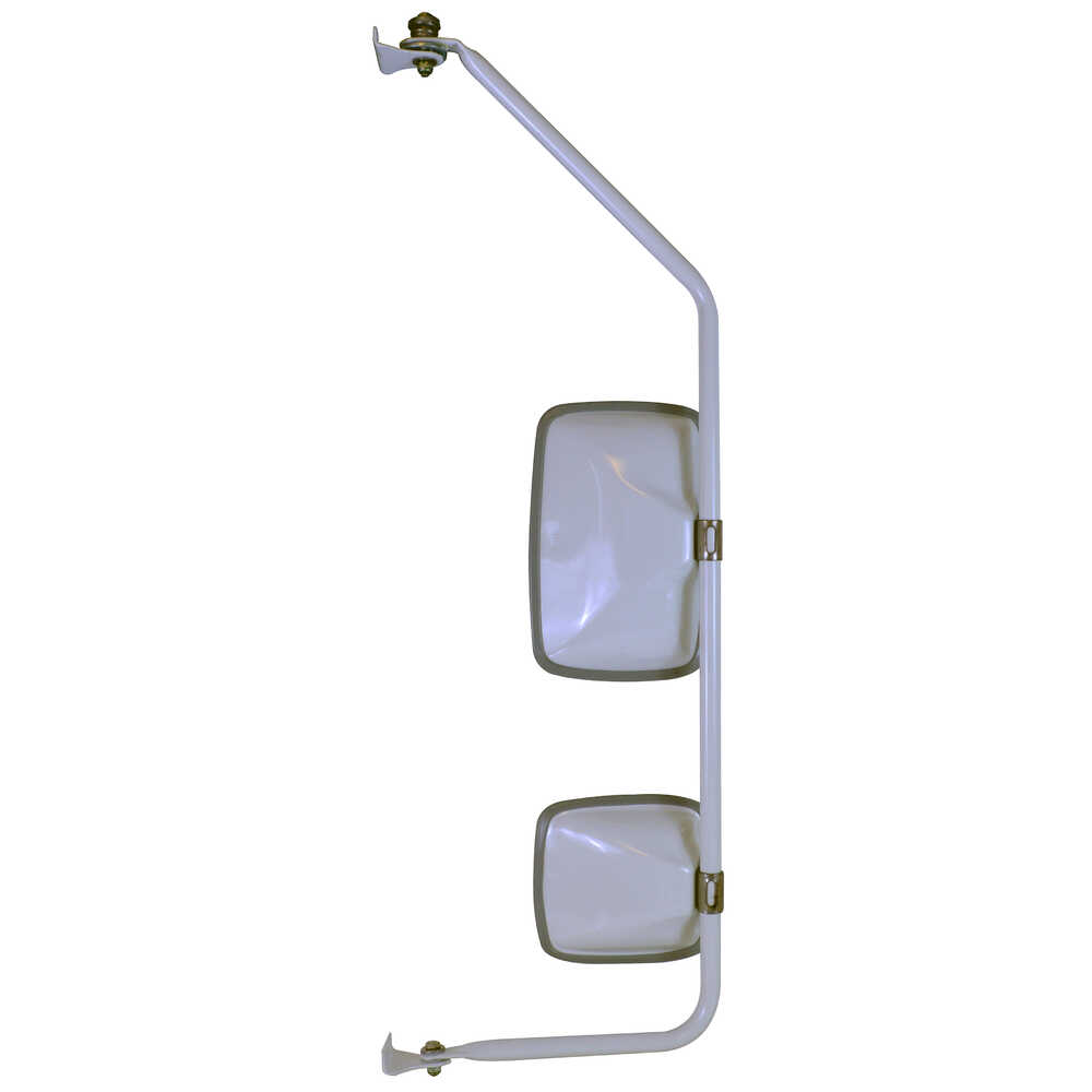 Mirror Assembly with Preset - White - Left Side - Velvac