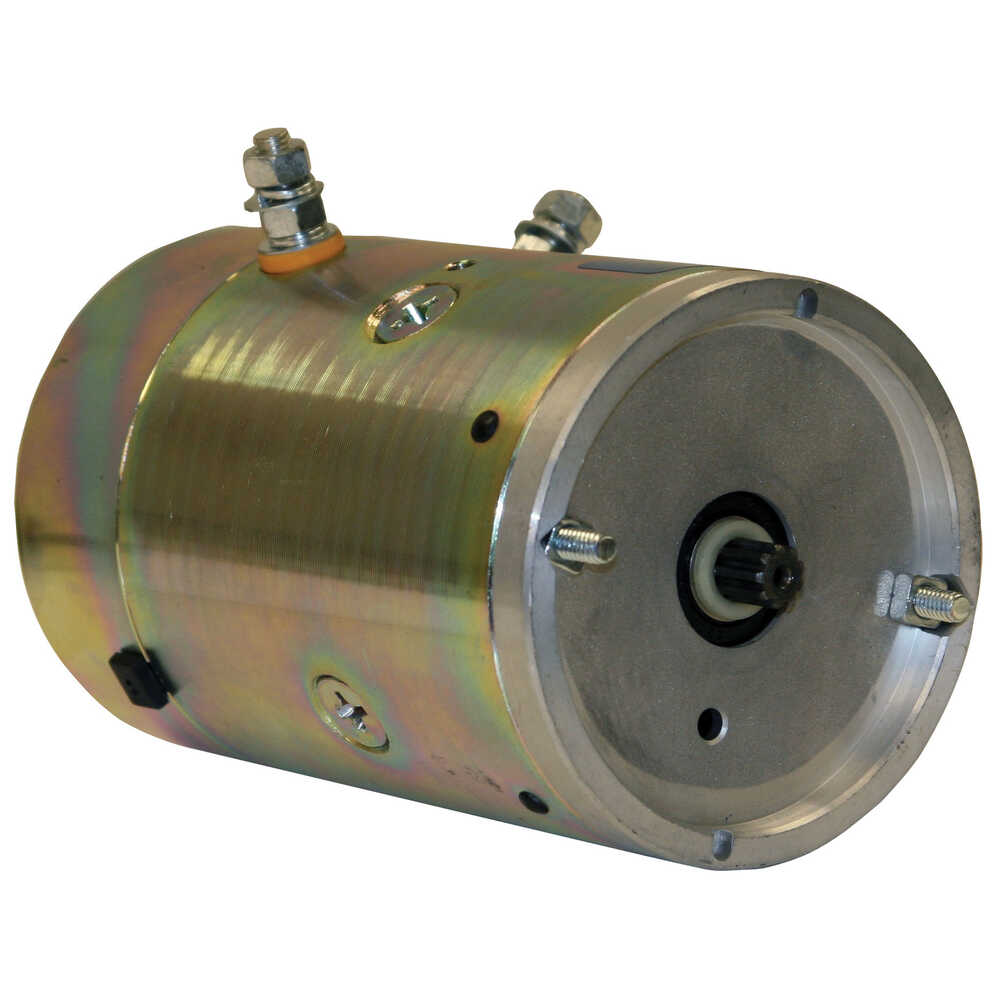 Motor 12VDC with Spline Shaft - Replaces Curtis 1TBM8
