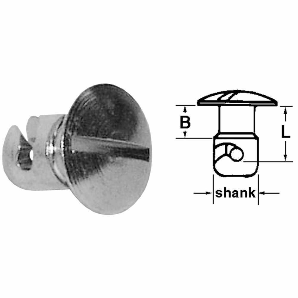 Quarter Turn Fastener - 7/16 Shank Diameter